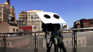 Download Make a Safe Sun Projector with Binoculars Video