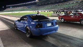 Download STREET CAR Racing at NASCAR TRACK - Kansas Speedway Video