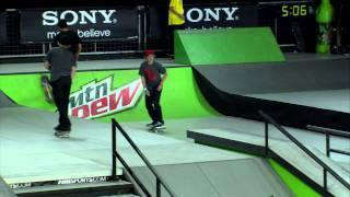 Download Dew Tour - ENTIRE Final Jam Session - Vegas Skateboard Street Finals - Ryan Decenzo, Greg Lutzka Video