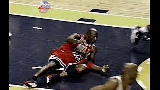 Download Last 1 Minute of Bulls vs Pacers Game 6 in 1998 Playoffs! Michael Jordan Loses Game Winning Shot! Video