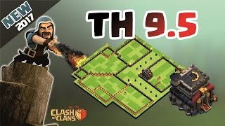 Download Clash of Clans - Novo Layout TH9.5 guerra ! war base 2017! Video