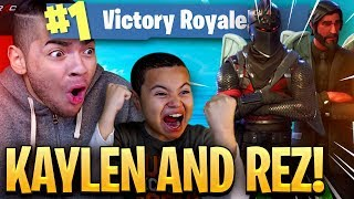 Download 9 YEAR OLD BROTHER AND MINDOFREZ PLAY DUOS!!! I CLUTCH THE IMPOSSIBLE! (EPIC) FORTNITE BATTLE ROYALE Video
