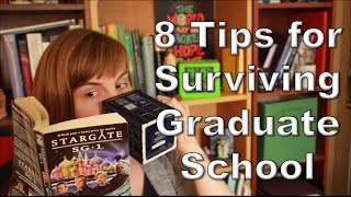 Download 8 Tips for Surviving Graduate School Video