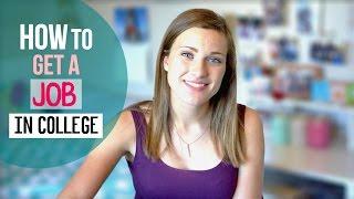 Download COLLEGE JOBS & INTERNSHIPS // Tips + Tricks Video
