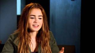 Download Lily Collins 'Abduction' Interview Video