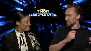 Download Thor Ragnarok Official Interview - Tom Hiddleston & Tessa Thompson Video