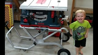 Download Bosch REAXX Table Saw Review and Comparison - Flesh Sensing Technology Video