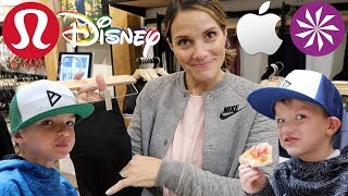 Download SHOPPING AT THE MALL WITH FOUR KIDS 🛍️ LULULEMON, DISNEY, ATHLETA, APPLE, AND MORE! Video