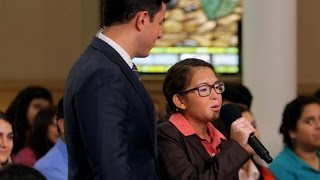 Download Pope Francis Asks Chicago Teen to Sing for Him: Part 1 | Moderated by David Muir | ABC News Video