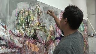 Download Portrait de l'artiste peintre Hom Nguyen Video