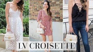 Download LOUIS VUITTON CROISETTE FIRST IMPRESSIONS + 4 STYLING IDEAS Video
