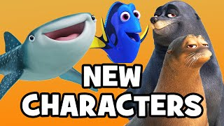 Download FINDING DORY: Meet The Characters & Cast - Pixar Finding Nemo Sequel Video