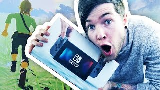 Download I'VE GOT A NINTENDO SWITCH!!! (Zelda: Breath of the Wild Gameplay) Video