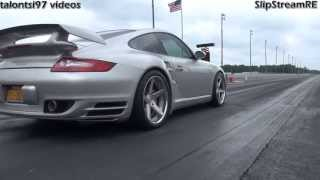 Download 4000+Hp of 997 Porsche racing D.O.R vs. GTR Vette & more Video