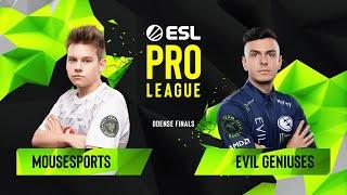 Download CS:GO - Evil Geniuses vs. mousesports [Inferno] Map 2 - Quarterfinals - ESL Pro League Season 10 Video