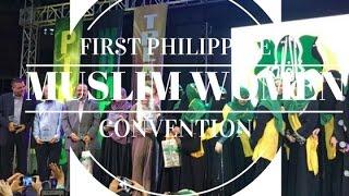 Download QUEENIE PADILLA & USAMA MIR   FIRST MUSLIM WOMEN CONVENTION IN MANILA   PHILIPPINES VLOG #1 Video