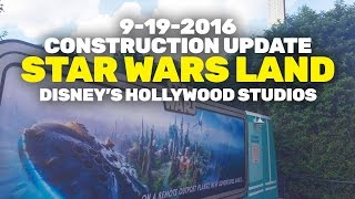 Download Construction Update: Star Wars Land at Disney's Hollywood Studios, Walt Disney World Video