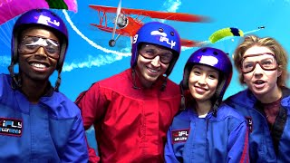 Download INDOOR SKYDIVING WITH SMOSH (Squad Vlogs - Field Trip) Video