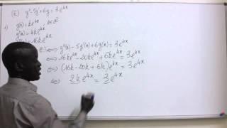 Download Cours - Terminale - Mathématiques : EDL Du Second Ordre avec Second Membre Suite 1 Video