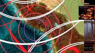 Download 10/30/2017 - VERY LARGE M8.4 earthquake reported in the Rainforests of Peru / S. America Video