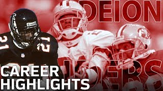 Download Deion Sanders Primetime Career Highlights | NFL Legends Video