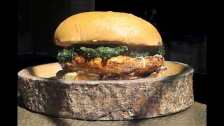 Download Joshua Miranda prepares The Locale's Portobello burger Video