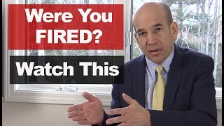 Download What To Do If You Are Fired from a Job - How to Handle Getting Fired, Laid Off or Terminated Video