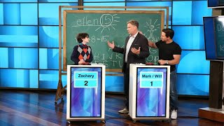 Download Will Ferrell and Mark Wahlberg Test Their Knowledge Against Whiz Kid Video