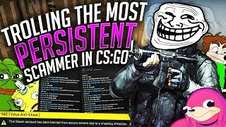 Download Trolling The Most Persistent CS:GO Scammer... Video