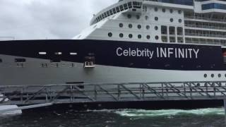 Download Celebrity Infinity slams into Ketchikan Dock 06/03/16 Video