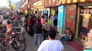 Download Flight Kathmandu to Lhasa,bus tour in Lhasa-Trip to Nepal,Tibet,India part 3-Travel video HD Video