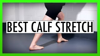 Download Best Calf Stretch to Relieve Tightness Video
