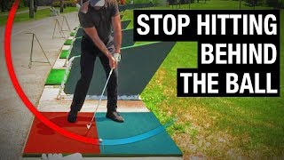 Download How To Stop Hitting Behind The Golf Ball (SIMPLE FIX!) Video