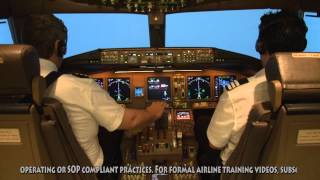 Download Boeing 777 ILS to minima and go-around - Melbourne, RW16 Video