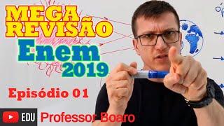 Download MEGA REVISÃO COMPLETA DE FÍSICA PARA O ENEM 2019 - EPISÓDIO #1 Prof Boaro do Canal Física Video