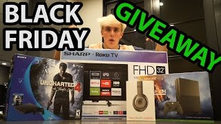 Download HUGE BLACK FRIDAY GIVEAWAY + SHOPPING CHAOS Video