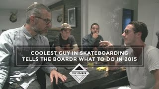 Download Coolest Guy in Skateboarding, Austyn Gillette, Tells The Boardr What to Do in 2015 Video