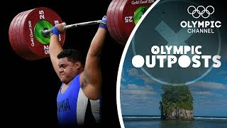 Download The Strongest weightlifters in Samoa Take On Terron Beckham |Olympic Outpost Video