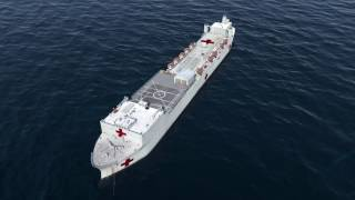 Download USNS Comfort Video