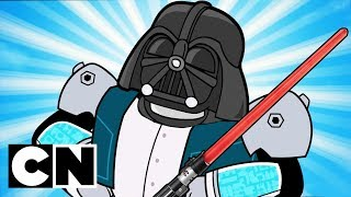 Download Star Wars References in Amazing World of Gumball & Teen Titans Go!   Cartoon Network Video