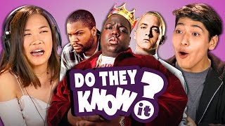 Download DO TEENS KNOW 90s HIP HOP? (REACT: Do They Know It?) Video