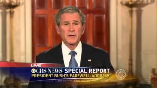 Download Presidential Farewell Speech George W Bush Video