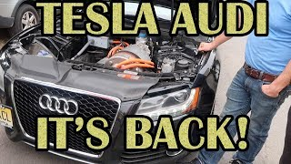 Download Tesla powered Audi, back and better! Video