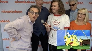 Download Meet the SpongeBob Squarepants Cast - Exclusive Interview Video