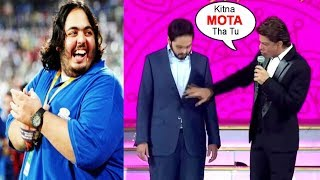 Download Anant Ambani's BEST Reply To Shahrukh Khan Making FUN Of His FAT Loss @RIL 40yrs Video