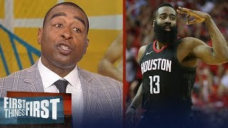 Download Cris Carter on how Harden's Rockets beat Curry, KD's Warriors in Game 2 | NBA | FIRST THINGS FIRST Video