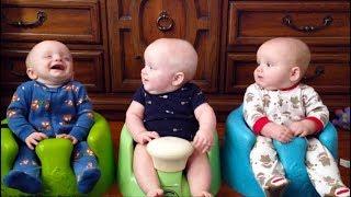 Download FUNNIEST TRIPLET BABIES can make us LAUGH super HARD! - Cute Triplet Babies Compilation Video