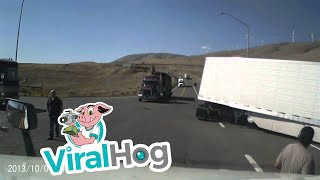 Download Big Rig Crash US 97 & WA 14 Video