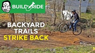Download Sketchy Jump Build and Crash | Berm Creek Build and Ride Video