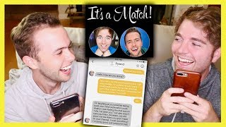 Download READING OUR TINDER CONVERSATION with RYLAND Video